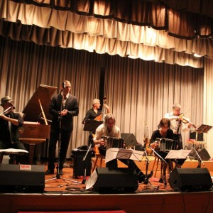 Concert in Chur, Switzerland with Ensemble Hyperion. Singer: Ruben Peloni.Photo: Tango Chur