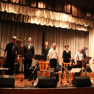 With Ensemble Hyperion in Chur, Switzerland. Photo: Tango Chur