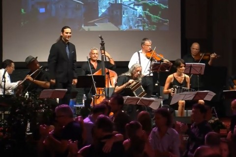 Grand milonga in Fivizzano, Italy with Ensemble Hyperion.