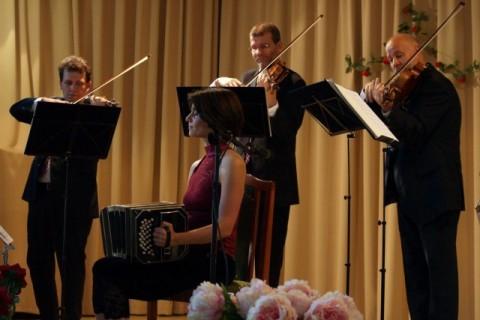 Tango evening with the Lanner Quartet in Kismaros.