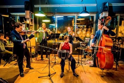 An evening with the Lanner Quartet in Városliget Café. Photo: Máté Földesi