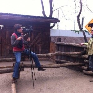 Interview with Zoltán Molnár at the Budapest Zoo.