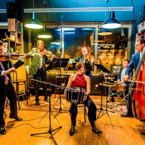 An evening with the Lanner Quartet in Városliget Café. Photo: Máté Földesi